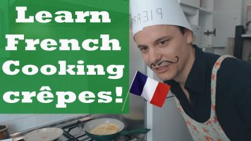 Learn French: Cooking Crêpes!
