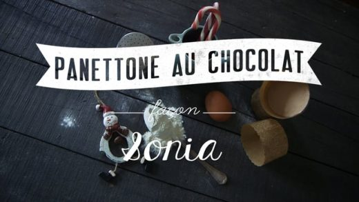 Panettone au chocolat #2 – One Minute Cooking