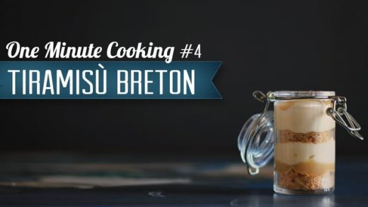Tiramisu breton #4 – One Minute Cooking
