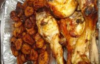 Recette de cuisine : Alloco poulet grille | How to make fried chicken and fried plantain